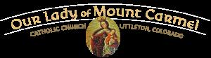 Our Lady of Mt. Carmel Parish logo