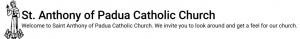 St. Anthony's Parish logo